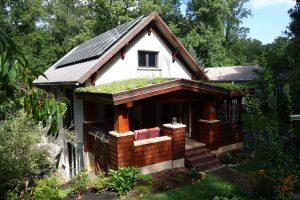 Residential solar standing seam metal roof