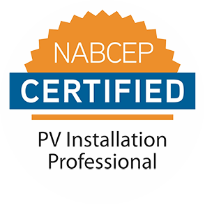 NABCEP certification logo