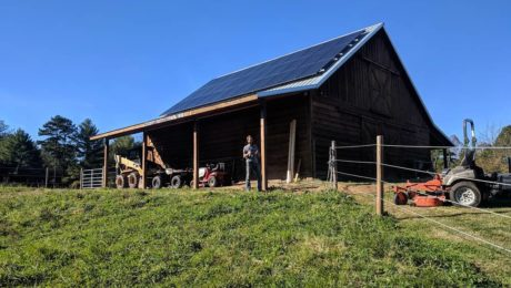 solfarm solar co barn usda rural renewable energy