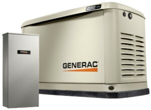 Generac gas geneartor with transfer switch