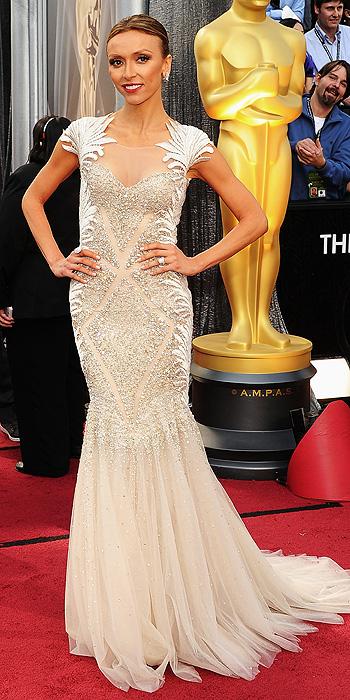 Giuliana Rancic Oscars 2012