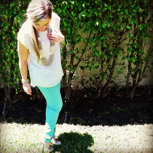 Spring Pastel Outfit