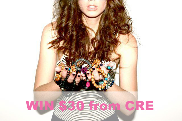 $30 CRE giveaway from Living In Color Print