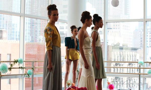By Mischa presentation at NYFW
