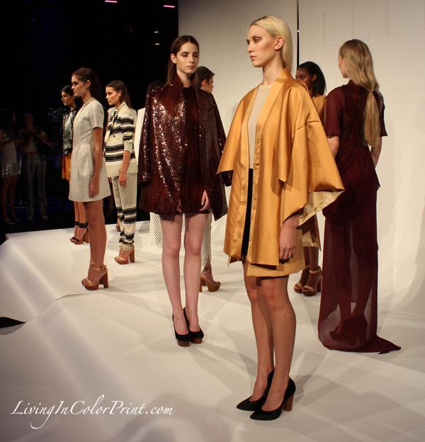 Australian designer Ellery at NYFW Sept. 2012