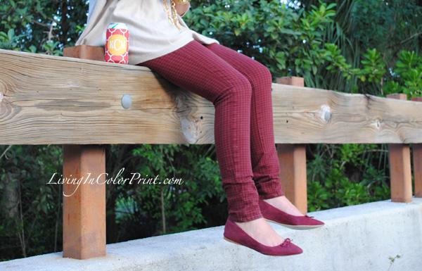 Garnet pants for FSU gameday, Florida State football style