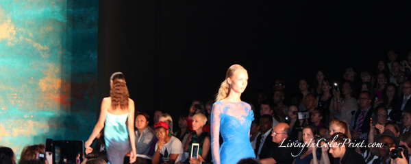 Monique Lhuillier S/S 2013 collection at Lincoln Center