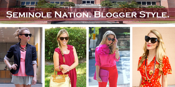 Seminole Nation. Blogger Style. series, FSU gameday fashion