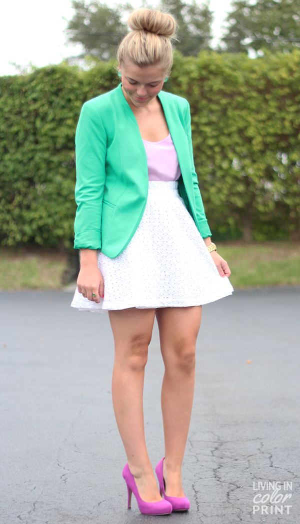Lilac + Green | Living In Color Print