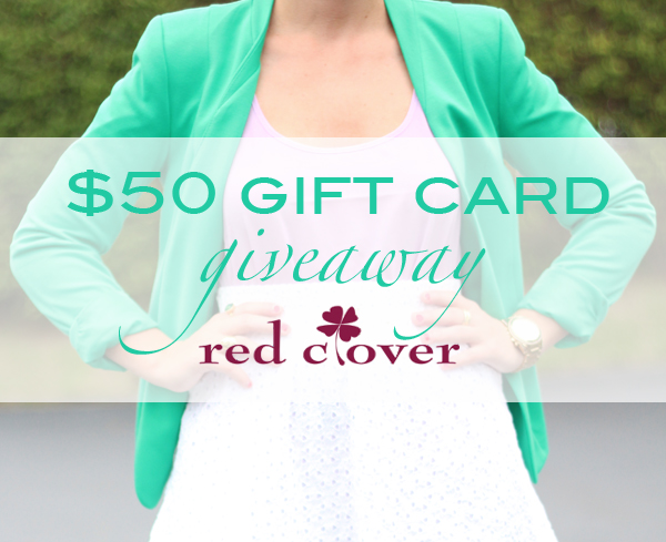 Red Clover Giveaway | Living In Color Print