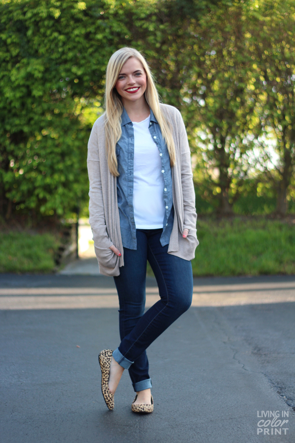 Fall Staple- Oversized Cardigan