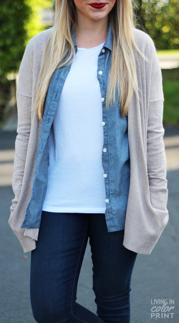 Fall Staple: Oversized Cardigan