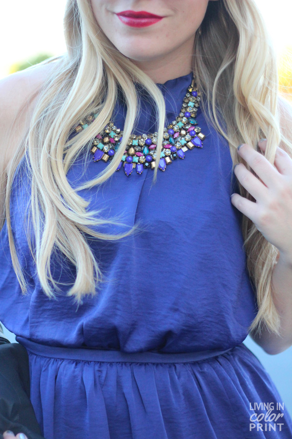 Royal Maxi + Kahlo Statement Necklace