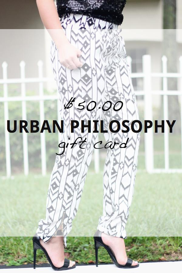 Urban Philosophy Giveaway