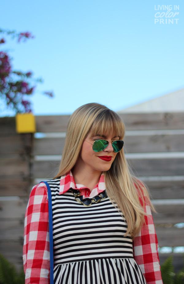Stripes + Check | Living In Color Print