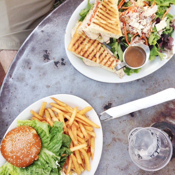Brunch at Alcove Cafe | Los Angeles