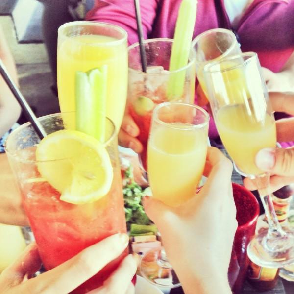 Brunch Cheers | Taste on Melrose in Los Angeles