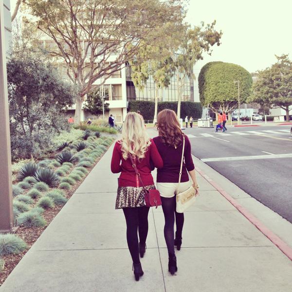 Garnet + Gold | a Brunette and a Blonde on Gameday