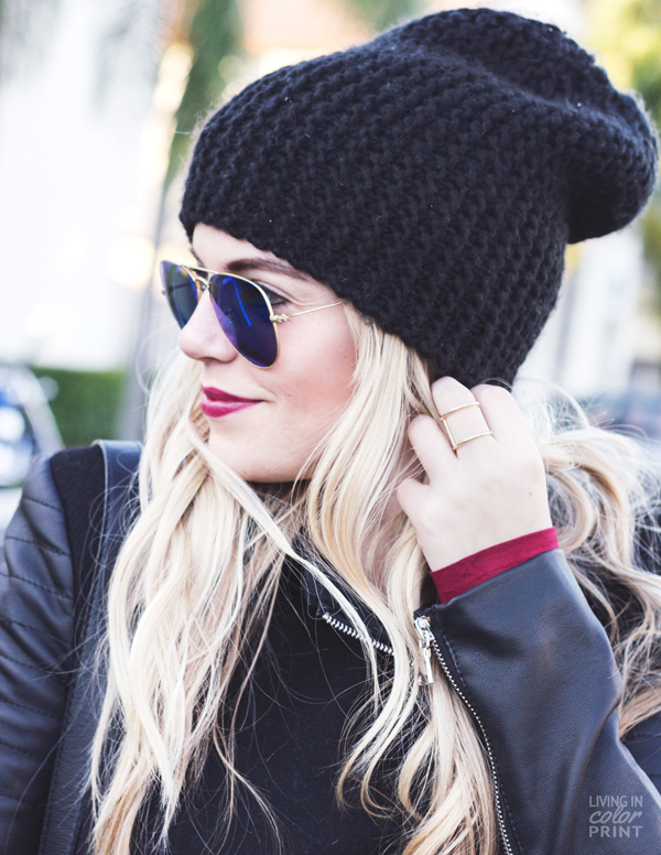 Beanie Time | Living In Color Print