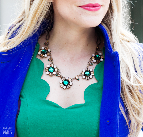 Cobalt + Green | Living In Color Print