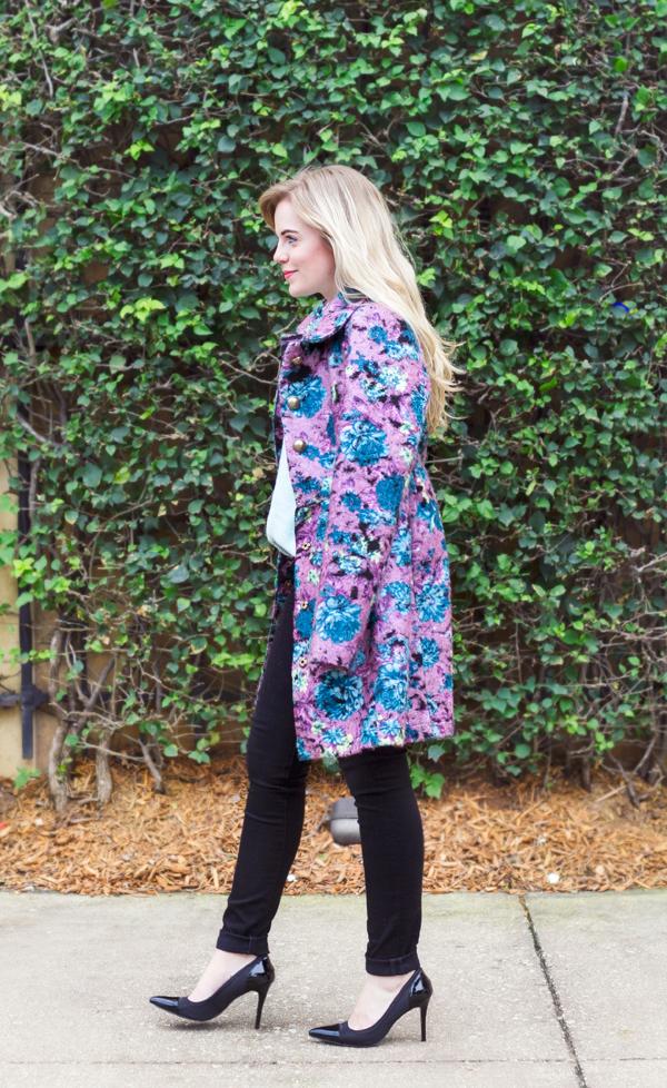 Floral Coat | Living In Color Print