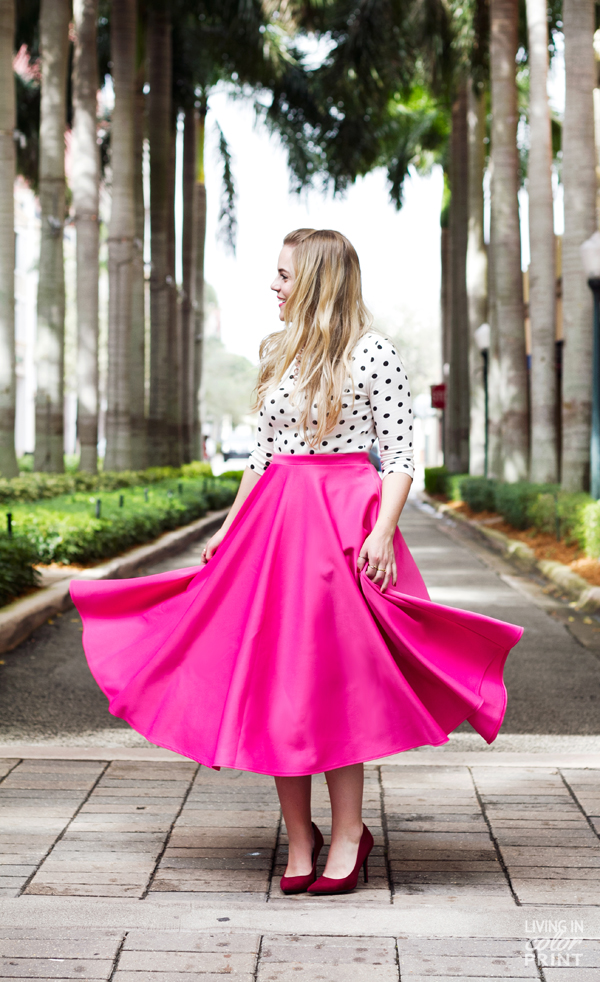 Swing into Spring | Living In Color Print