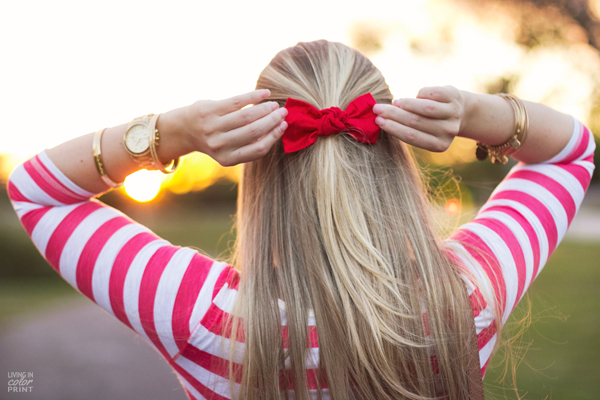 Red Stripes | Living In Color Print
