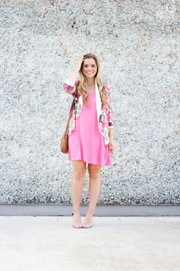 Pink Floral | Living In Color Print