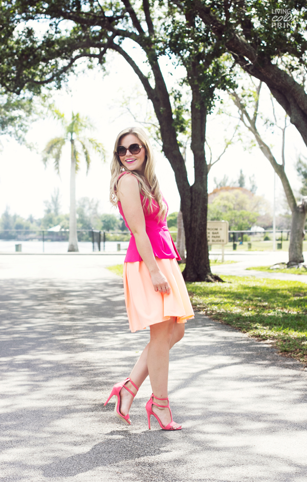 Pink + Peach | Living In Color Print