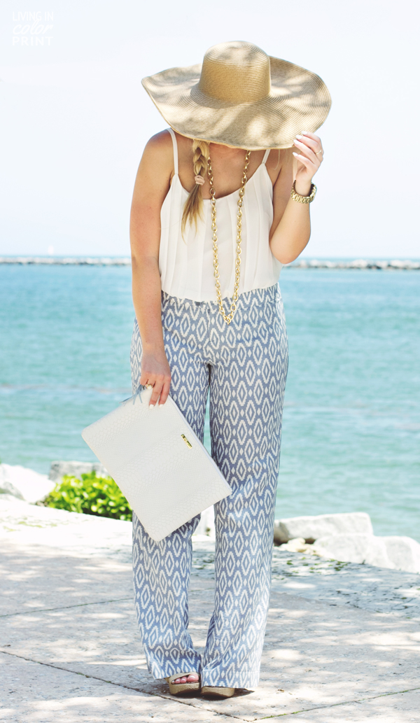 Printed Pants | Living In Color Print