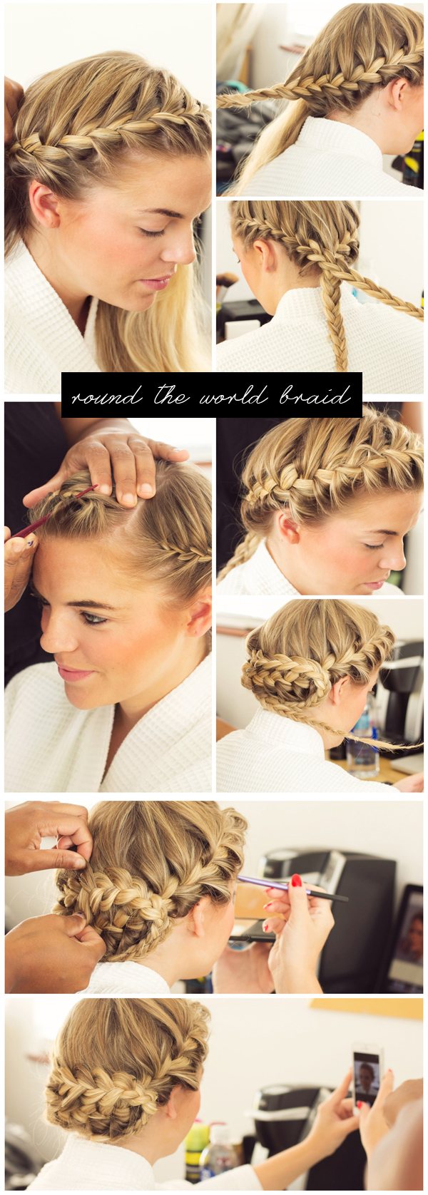 Round the World Braid Steps