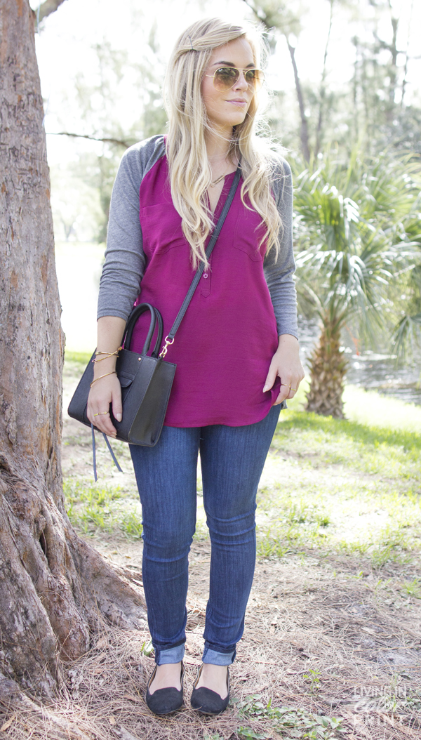 SeminoleStyle | Baseball Blouse