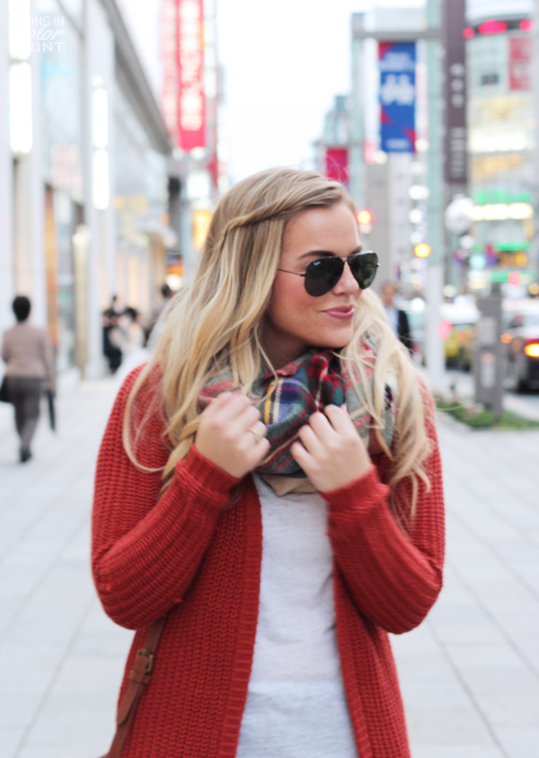 Chunky Cardi | Living In Color Print