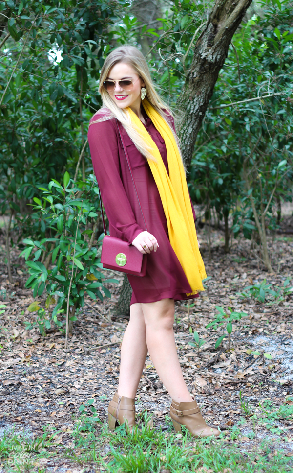 Seminole Style | Garnet Shirt Dress