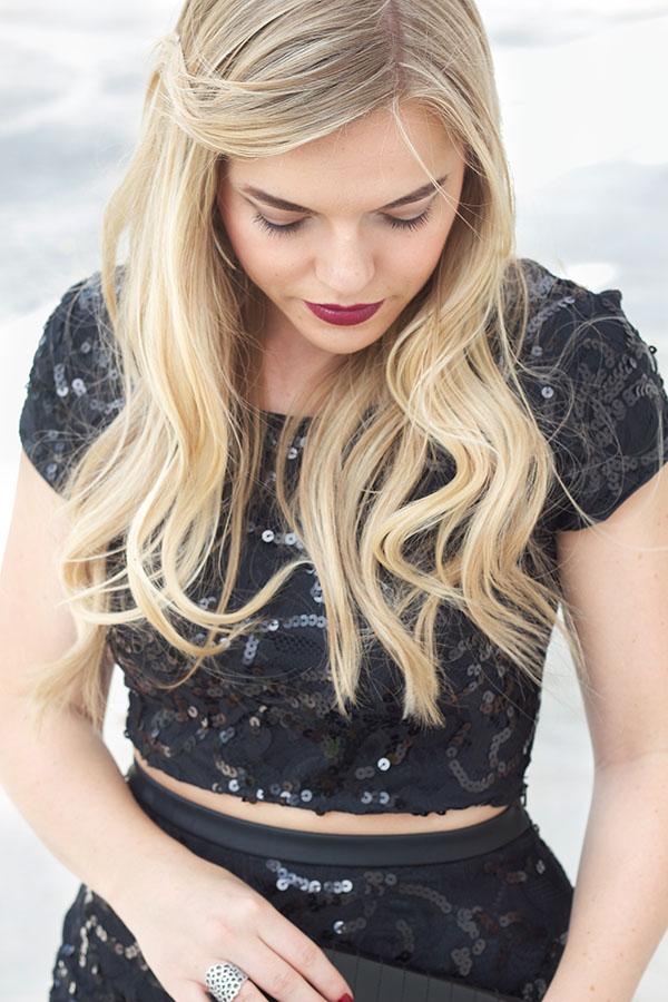 Black Sparkle   Living In Color Print