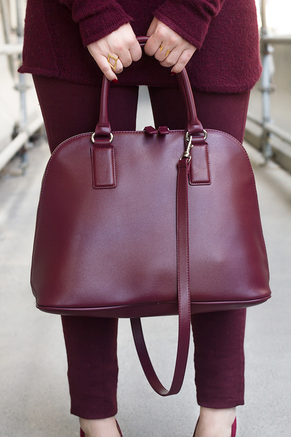 Monochromatic Burgundy | Living In Color Print