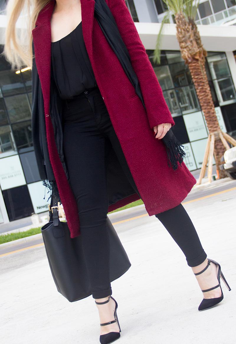 Garnet Coat | Living In Color Print