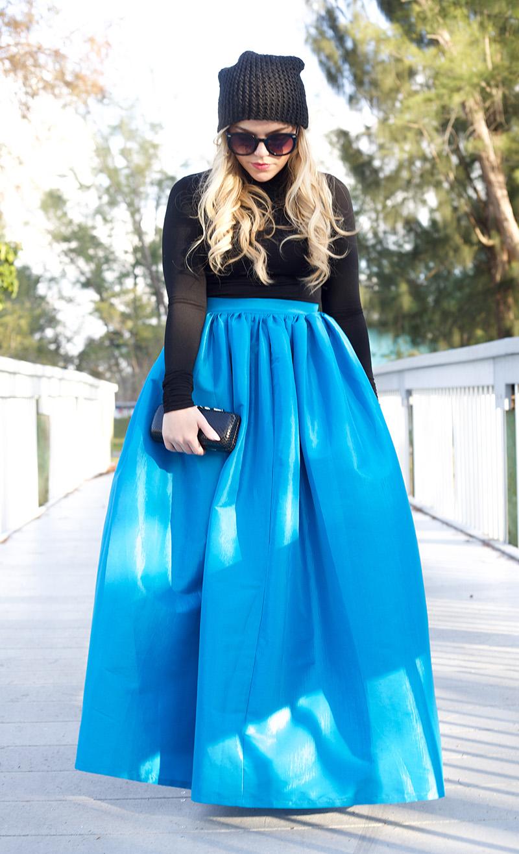 turquoise-blue-cinderella-full-maxi-skirt