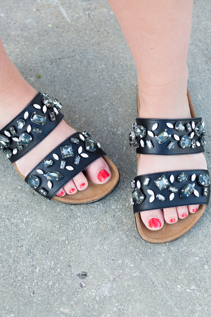 jeweled-black-birkenstocks