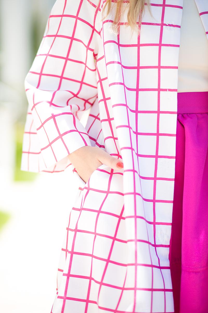 Fuchsia-Checkered-coat