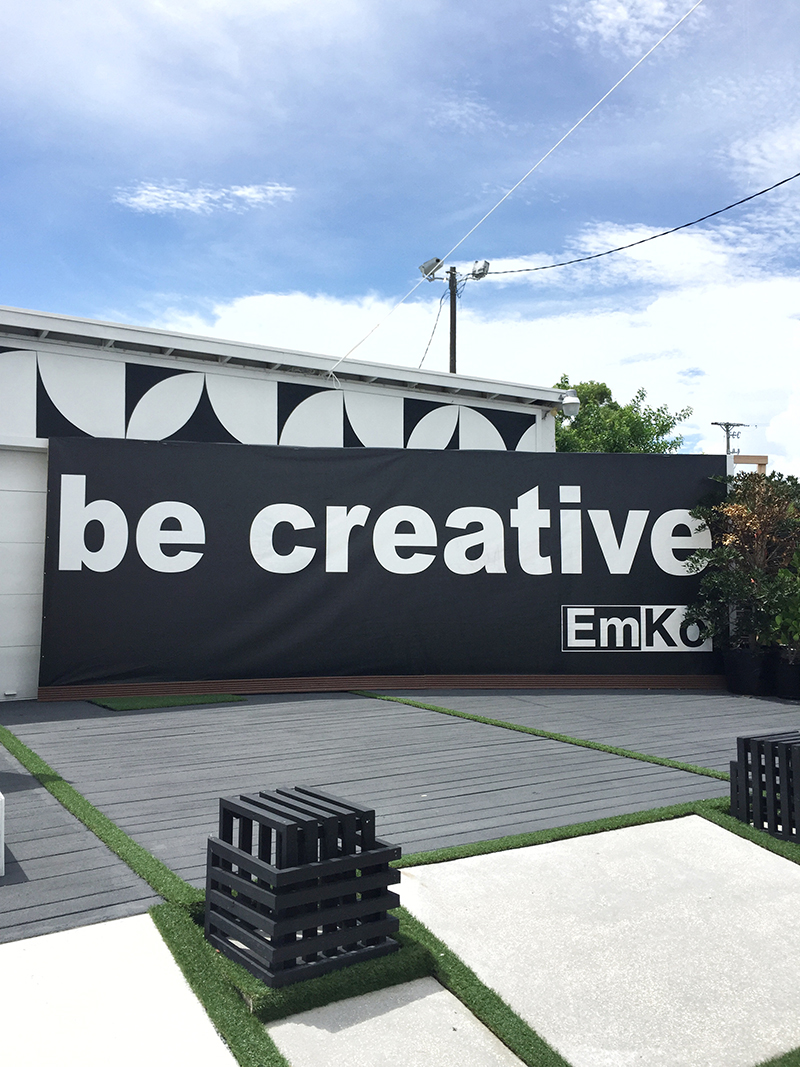 be creative sign