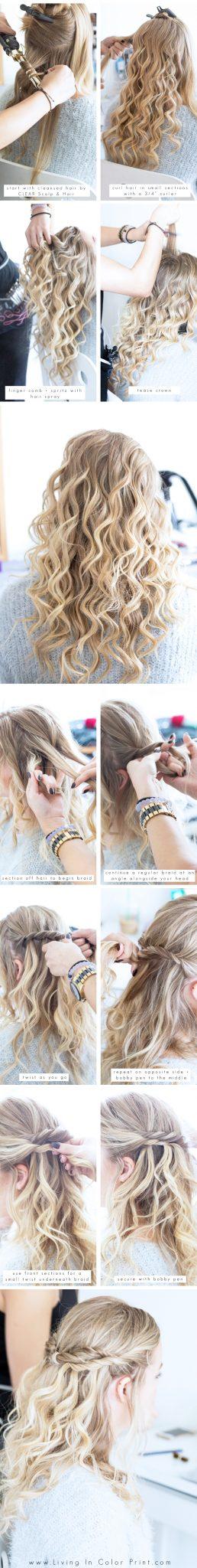 CLEAR Scalp & Hair step by step