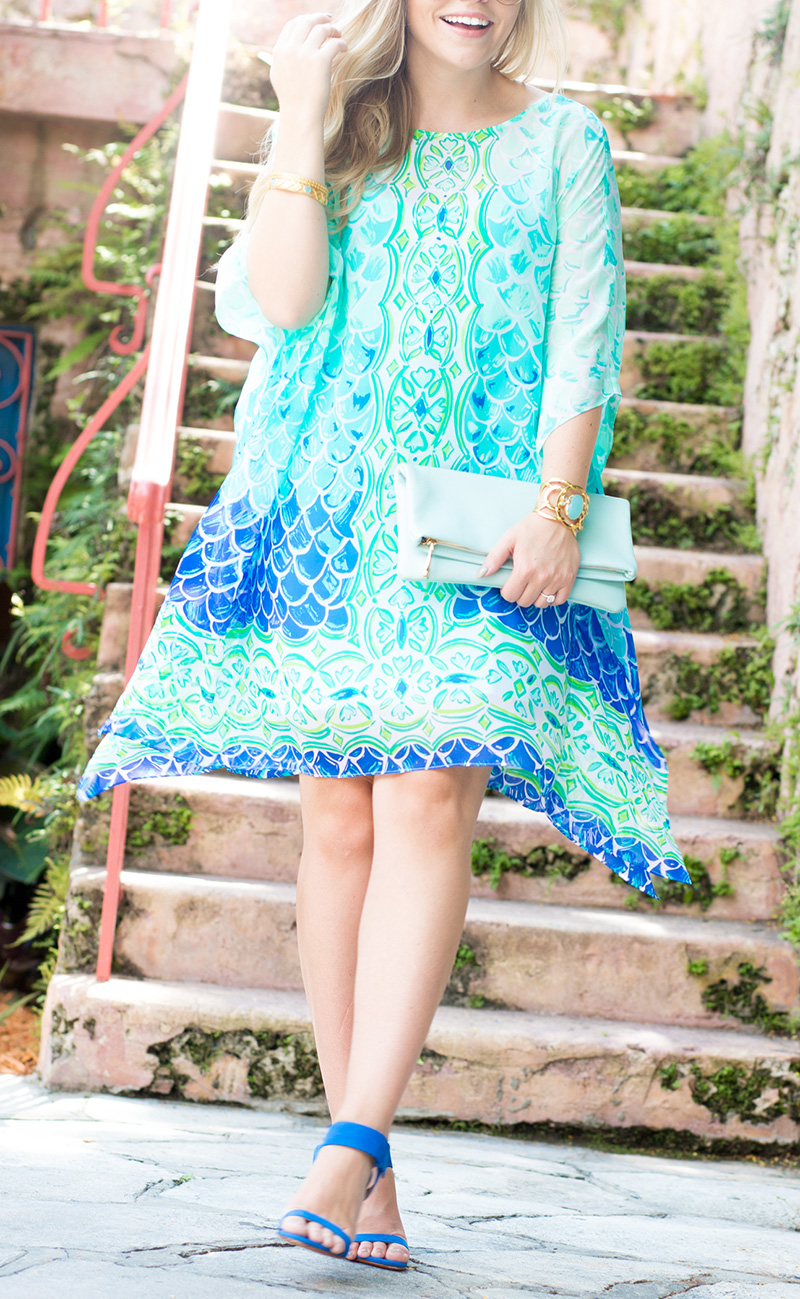 Lilly Pulitzer Caftan in Spain