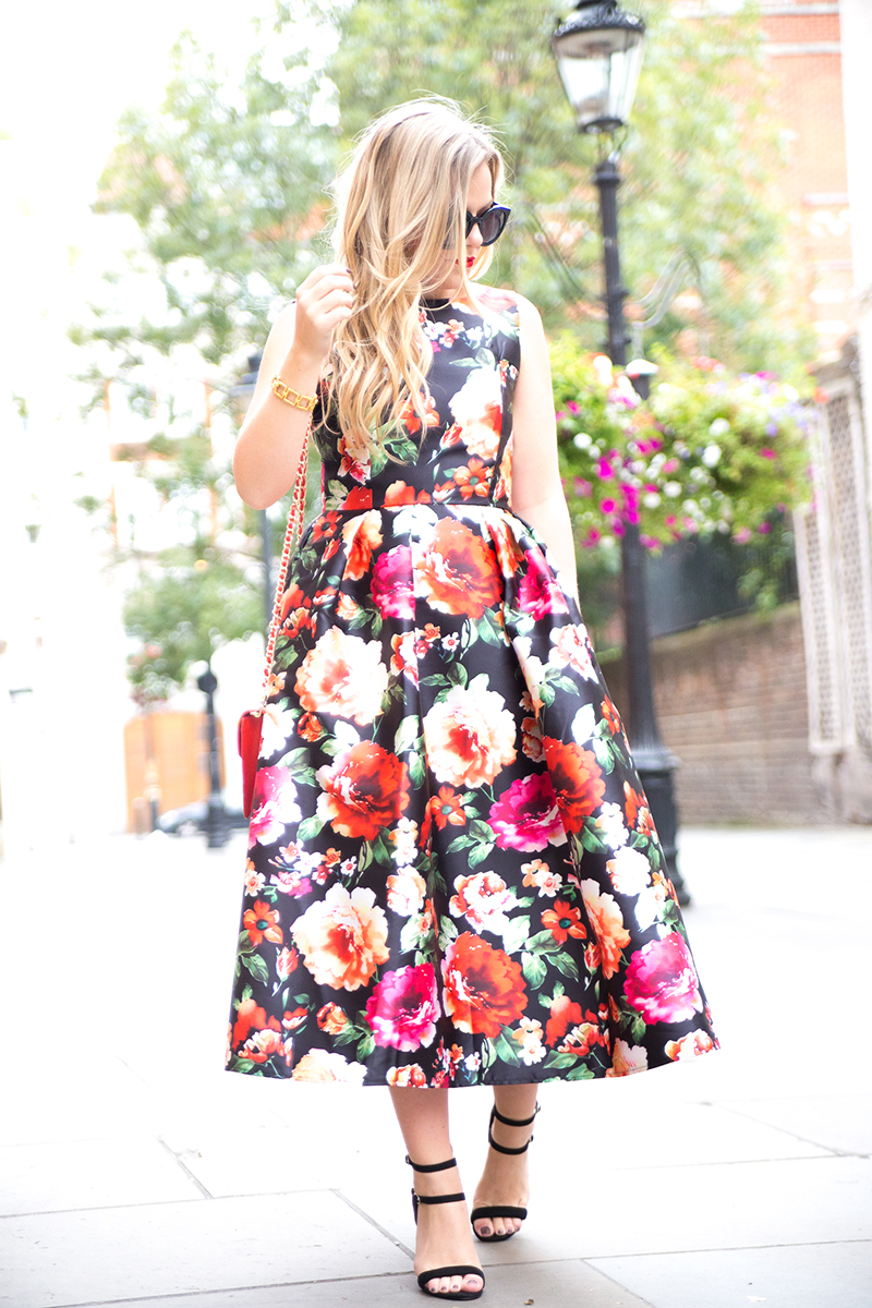 Red Floral9