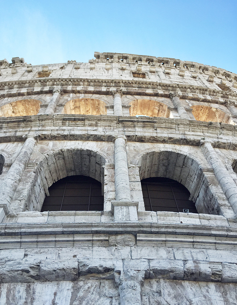 coliseum in rome during MSC Cruise