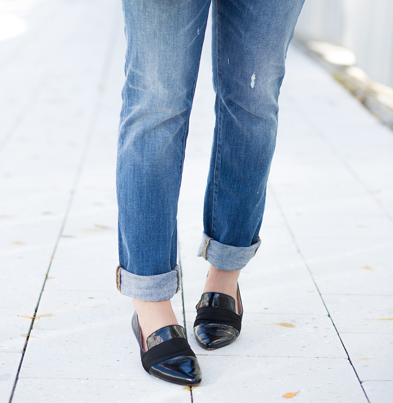 chic Patent Loafer