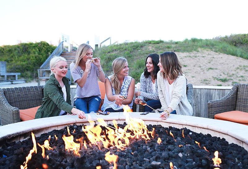 Summer Firepit, Sanderling Resort, Duck North Carolina