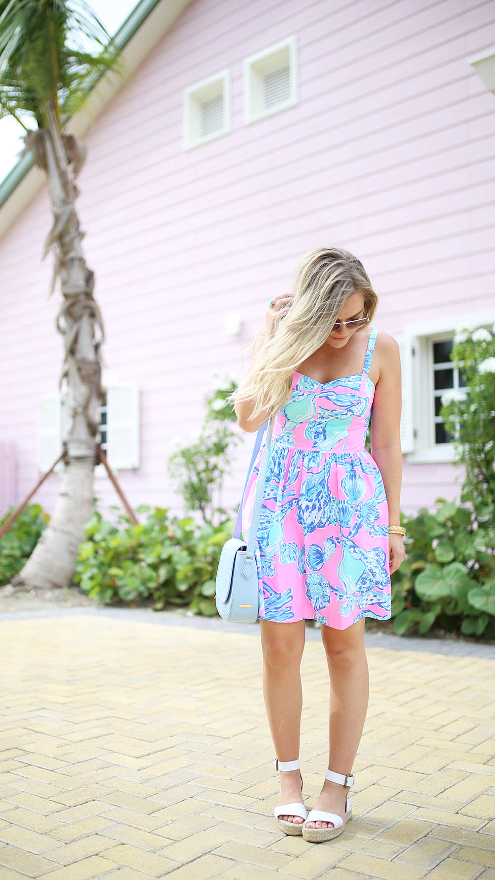 Seashells by the Seashore, Lilly Pulitzer Dress