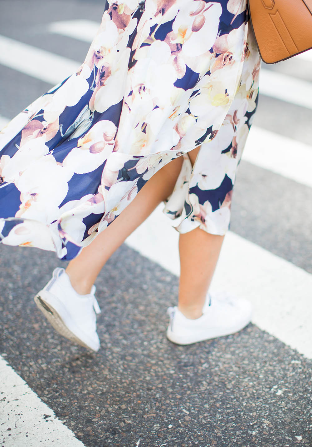 Floral Silk Skirt | Living In Color Print