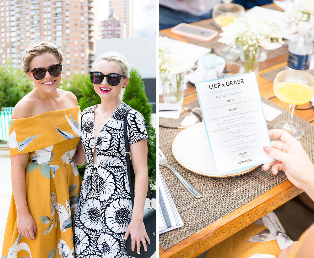 NYFW Blogger Brunch